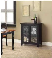 dining accent cabinet buffet black kitchen furniture storage room