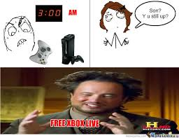Xbox Live Meme - free xbox live by irishdragon47 meme center