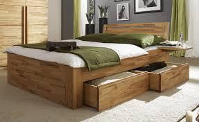schlafzimmer bett caro bett doppelbett schubkastenbett mit vierkantfüßen buche