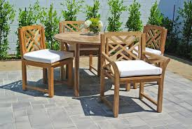 teak patio table with leaf teak outdoor dining furniture teak outdoor furniture sunbrella