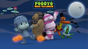 pocoyo space halloween 40 minutes of spooky adventures for kids