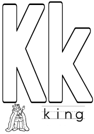 king alphabet coloring pages free alphabet coloring pages of