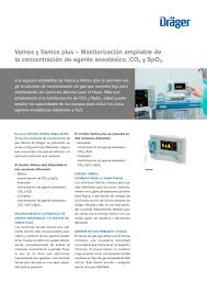 vamos vamos plus dräger catálogo pdf documentación técnica