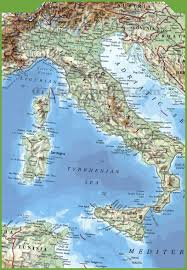 Physical Map Of North America by Italy Maps Maps Of Italy