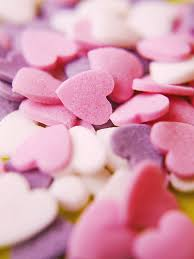 heart shaped candy heart shaped candies photograph by rolfo