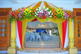 decoration creative ganpati decoration ideas for home flowers