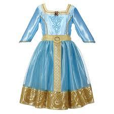 amazon disney princess brave merida royal dress clothing