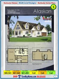 alaskan rochester modular home cape cod multi level plan price