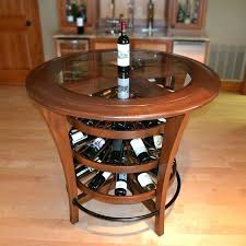 wine tables and racks pub table with wine rack best furniture images on coffee tables