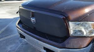 Dodge Ram Truck Grills - home made vinyl grill cover