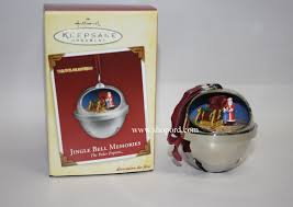 hallmark 2005 jingle bell memories ornament the polar express qxi6462