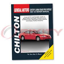 pontiac grand prix chilton reparación manual tienda garaje