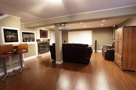 basement cozy ideas for basement design using green basement wall