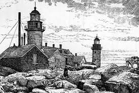 matinicus rock light history new england lighthouses a virtual