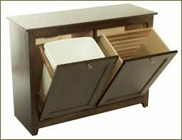 Kitchen Cabinet Trash Double Trash Can Cabinet Most Update Home Design Ideas Bp2