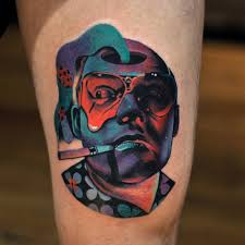 raoul duke from fear and loathing in las vegas high on life
