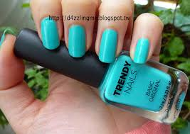 d4zzling me the faceshop trendy nails gr502 swatch