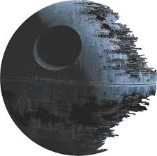 death star artwork star wars decal removable wall sticker home