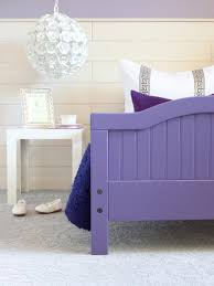 Purple Kids Room by How To Give A Basic Toddler Bed A Designer Look Hgtv