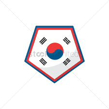 Flag Of South Korea Free South Korea Flag Icon Vector Image 1624262 Stockunlimited