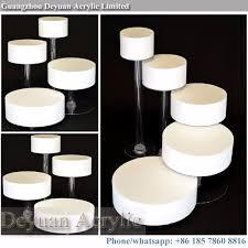 3 tier wedding cake stand 3 4 tier wedding glass cake stand acrylic pedestal stands buy