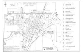 Map Of Saskatchewan Map Of The Town Of Rosthern