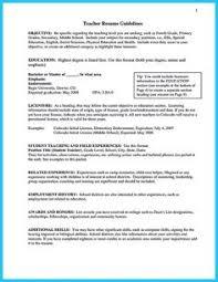 teacher assistant resume sample objective u0026 skills becoming a