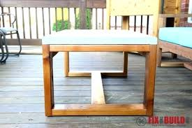 outdoor wood coffee table cement outdoor furniture cement top coffee table concrete table