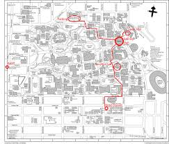 Utah Campus Map by Part 46 Tourism Maps Guide For Easy Trip