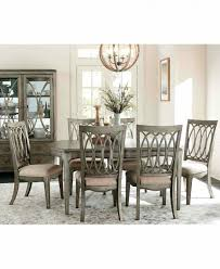 white dining room chair furniture ideas and white rectangle trestle macys dining room