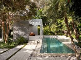 Tropical Backyard Design Ideas Narrow Lap Pool Home Interior Design And Furniture Ideas By Pure