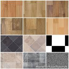 non slip vinyl flooring kitchen bathroom cheap lino 3m ebay