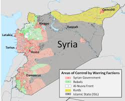 Syria Map Control by Wonky Thoughts The Syrian Civil War