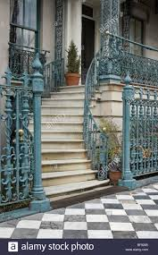 Decorative Wrought Iron Railings Curved Staircase Wrought Iron Railing Stock Photos U0026 Curved