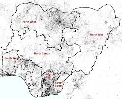 Map Of Concentration Camps Nigeria Acaps