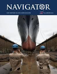 navigator 2016 fallwinter issuu by suny maritime issuu
