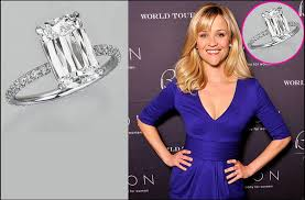 reese witherspoon engagement ring reese witherspoon s 4 carat engagement ring is a stunner
