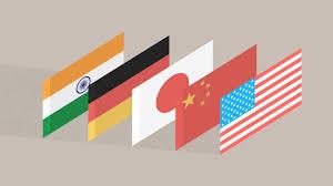 Top Flags Of The World World U0027s Largest Economies Cnnmoney