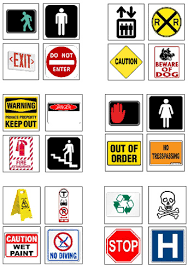 safety signs and signals autism community