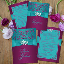 teal wedding purple and teal wedding invitations purple and teal wedding