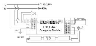 230v ac output emergency module for led tube led panel led down