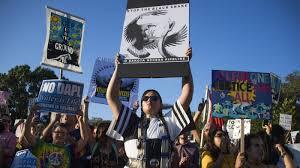 trump u0027s election overshadows energy pipeline protests around the