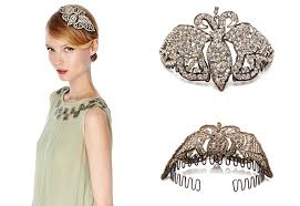 1920s hair accessories gatsby style hair accessories add oomph and to your crown