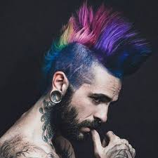 hairstyles for long hair punk 21 punk hairstyles for guys