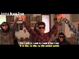 Meme Si Lyrics - bruno mars the lazy song official video letra espa祓ol lyrics