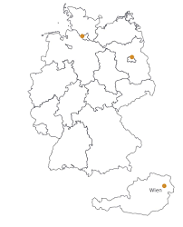 Map Of Germany And Austria by Linked Living At U2013 Studenten Und Business Apartments