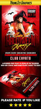 party city open halloween halloween party flyer by youngicegfx graphicriver