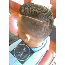 retro hardline part combover haircut by mariothebarber yelp