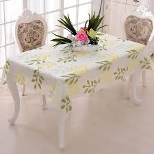 nappe cuisine plastique 140x130 cm simple moderne fleur motif en plastique tableau