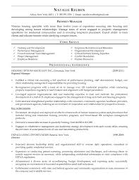 Director Of Human Resources Resume Fleet Manager Resume Free Resume Example And Writing Download